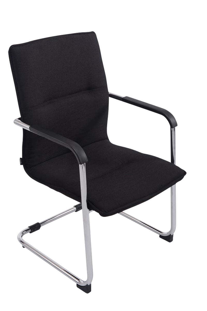 Besucherstuhl Seattle Stoff-schwarz   Büro > Bürostühle und Sessel  > Besucherstühle   PAAL Office Furniture