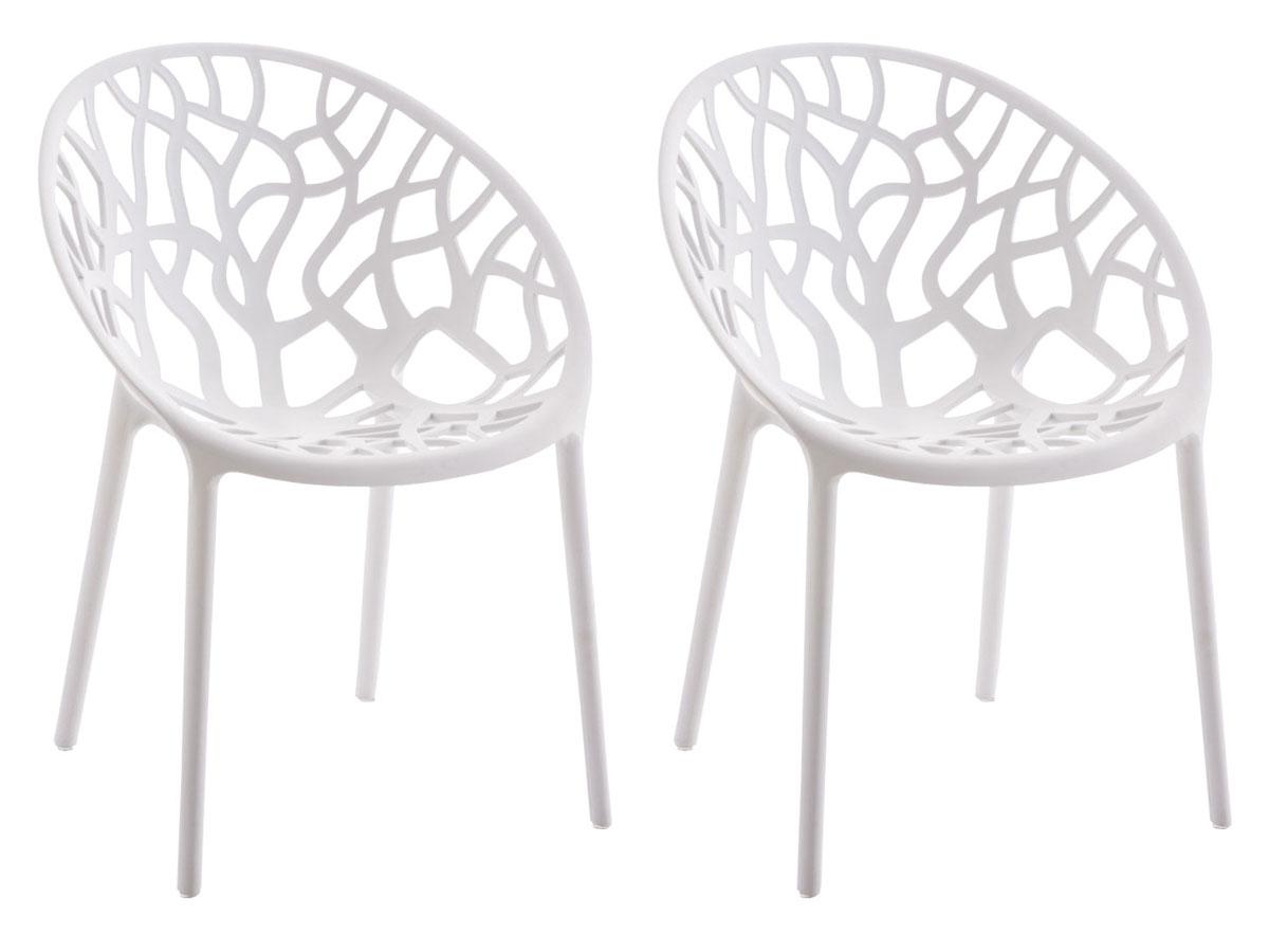 2x Stapelbarer Gartenstuhl Hope Gartenstühle Stühle