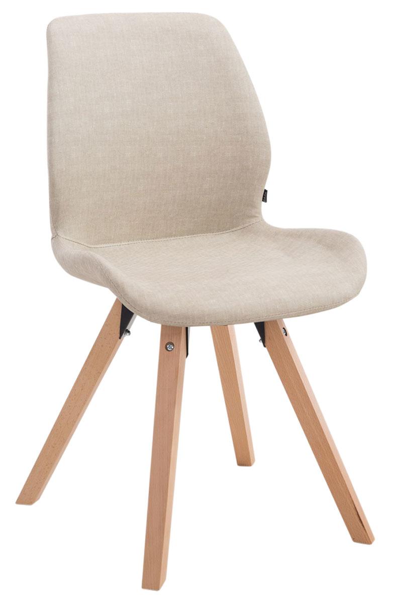 Besucherstuhl Perth Kunstleder Square-creme-Natura | Büro > Bürostühle und Sessel  > Besucherstühle | PAAL Office Furniture
