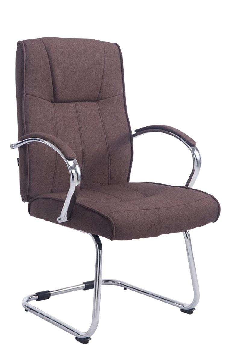 Besucherstuhl Basel V2 Stoff-braun | Büro > Bürostühle und Sessel  > Besucherstühle | PAAL Office Furniture