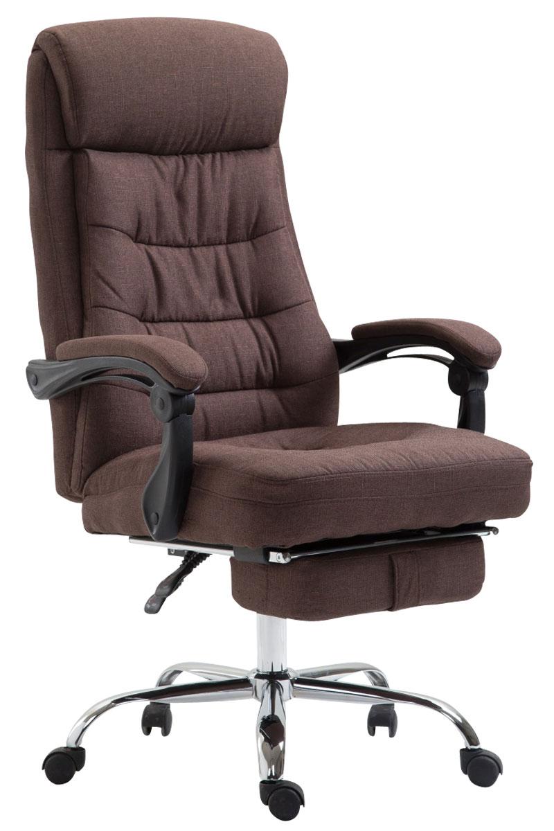 Bürostuhl Hades Stoff mit Fußablage-braun   Büro > Bürostühle und Sessel  > Bürostühle   PAAL Office Furniture