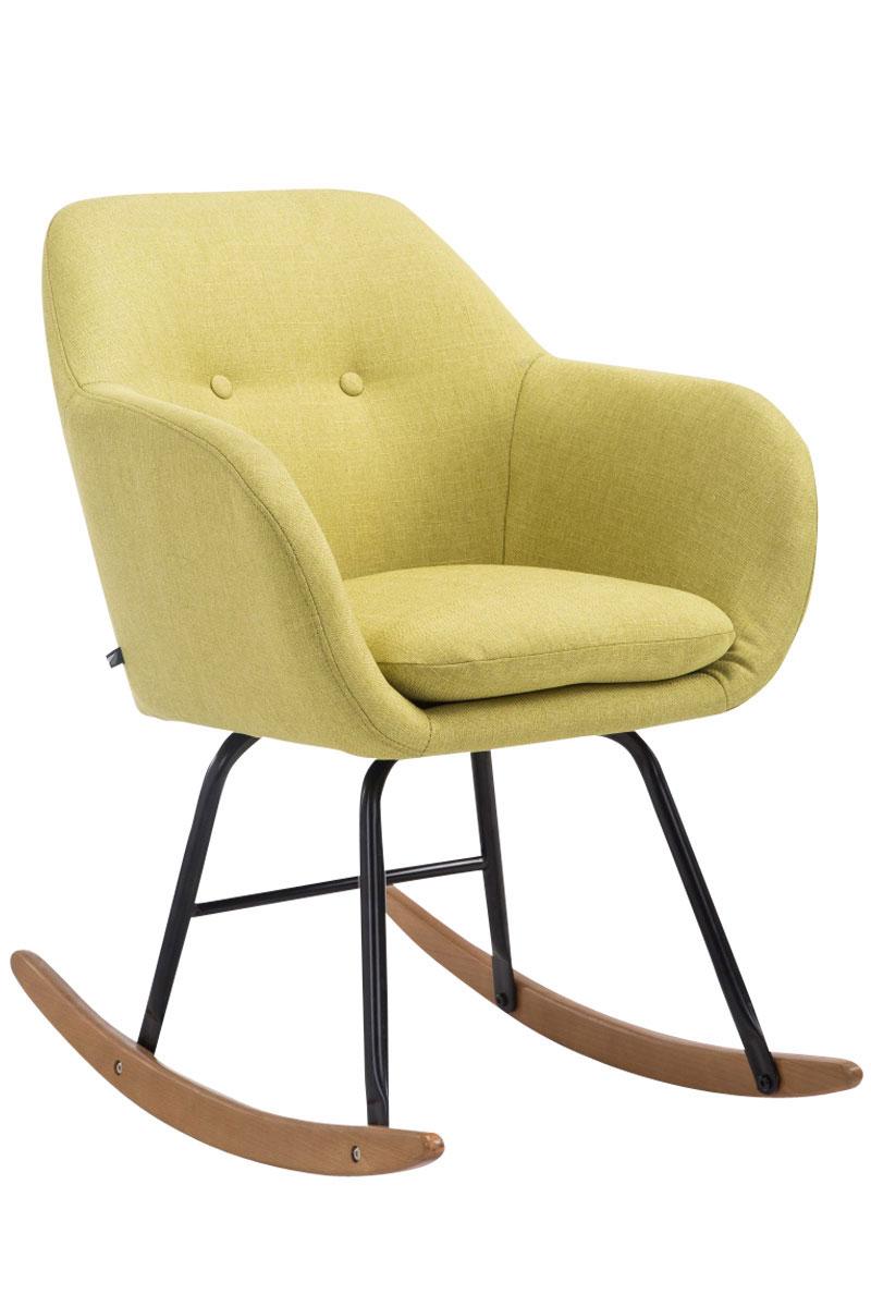 Schaukelstuhl Avalon Stoff-grün   Wohnzimmer > Stüle > Schaukelstühle   Timwood Experience